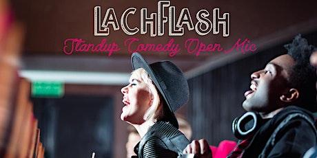 Lachflash Stand Up Comedy Show im PBerg in Berlin - Ein Haushalt, ein Preis Tickets