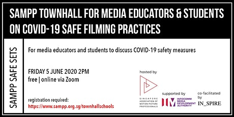 Townhall for Media Educators & Students on COVID-19 Safe Filming Practices tickets