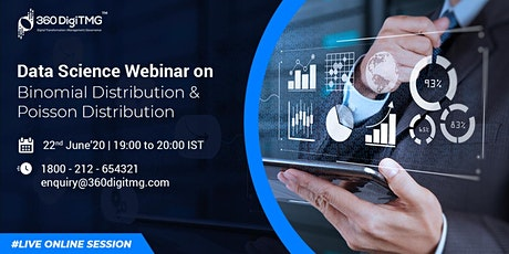 Data Science Free Webinar | Binomial Distribution & Poisson Distribution tickets