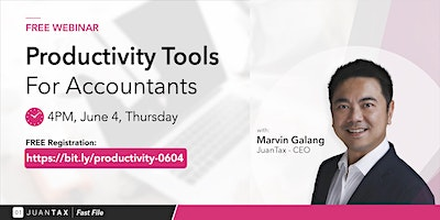 Productivity Tools Webinar for Accountants