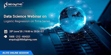 Data science Free Webinar | Logistic Regression on Time Series tickets