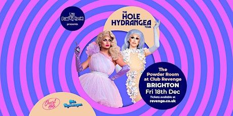 Hole Hydrangea at The Powder Room tickets