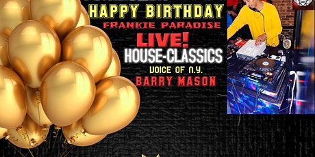 Frankie Paradise Birthday Party Live tickets
