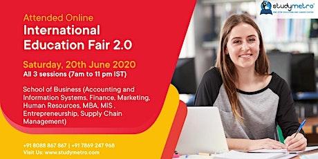 Online OIEF 2.0 with 200+ Universities (School of Business) tickets