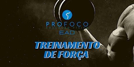 Treinamento de Força Profocoef EAD 2020 ingressos