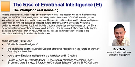 ICF Coaching Growth Series: The Rise of Emotional Intelligence (EI) tickets