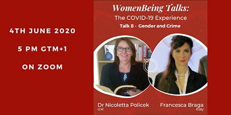 WomenBeing talks 8: Gender and crime tickets