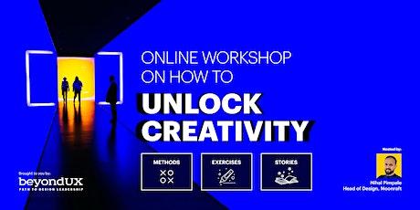 Interactive Webinar on How to Unlock Creativity tickets