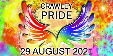 Crawley Pride 2021 tickets