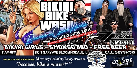 Bikini Bike Wash Free BEER tickets