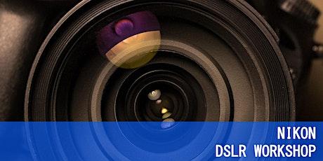 Zoom: Nikon DSLR Basics tickets