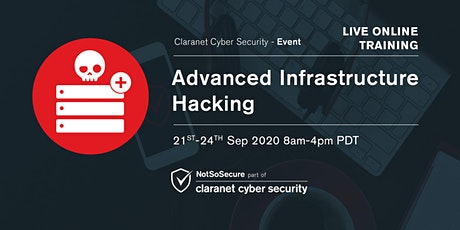 Advanced Infrastructure Hacking - Live Online Training USA biglietti