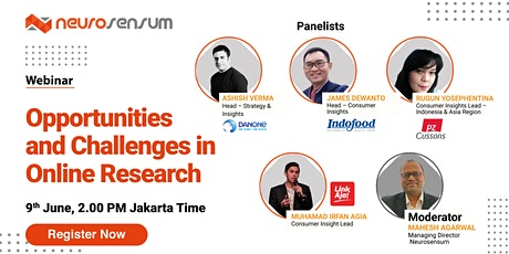 OPPORTUNITIES AND CHALLENGES IN MARKET RESEARCH tickets