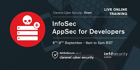 InfoSec AppSec for Developers - Live Online Training entradas