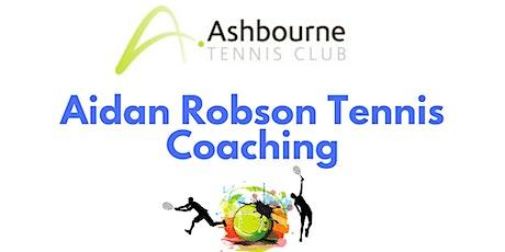 Aidan Robson Tennis Coaching tickets