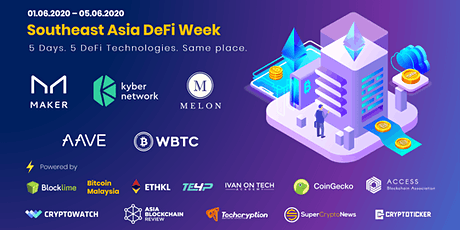 Southeast Asia DeFi Week | Learn 5 DeFi Technologies in 5 Days Tickets