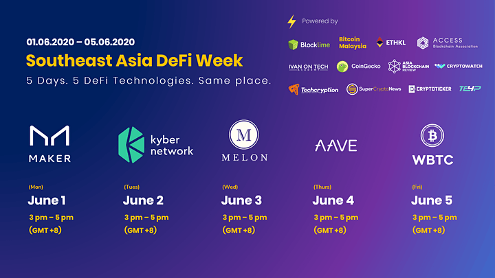 Southeast Asia DeFi Week | Learn 5 DeFi Technologies in 5 Days image