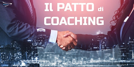 Il patto di Coaching: seminario digitale biglietti
