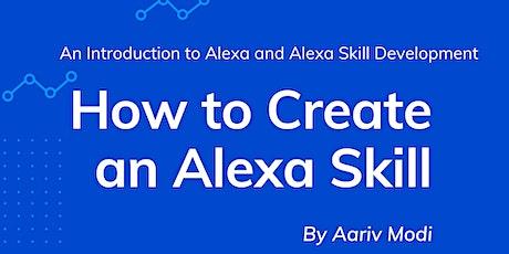 How to Create an Alexa Skill tickets