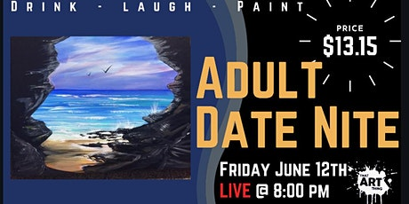 That Art Thing Date Night Paint Night - The one with the Secret Cave tickets