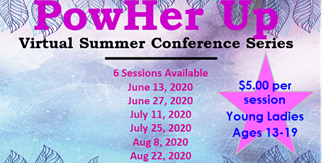 PowHer Up Virtual Summer Conference Series presented by YLIW boletos