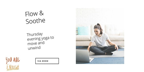 Flow & Soothe Thursday Night Yoga tickets
