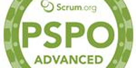 PROFESSIONAL SCRUM PRODUCT OWNER - ADVANCED tickets