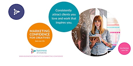 Marketing Confidence For Creatives - Info Session tickets