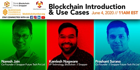 Blockchain Introduction and Use Cases tickets