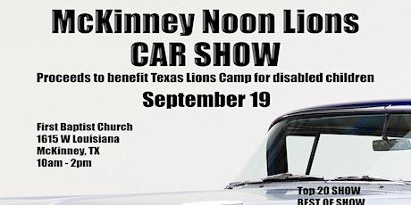 McKinney Noon Lions Car Show tickets