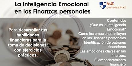 Inteligencia Emocional Aplicado en las Finanzas Personales boletos