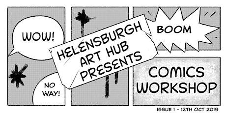 Online Kids Comic Books Workshop (8+) tickets