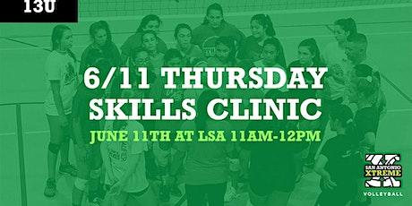 Summer Skills Clinic (13U) tickets
