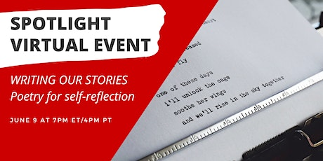 Writing Our Stories: Poetry for Self-Reflection tickets