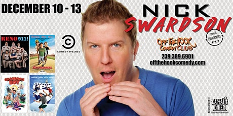 Comedian Nick Swardson live at Off the hook Comedy Club tickets