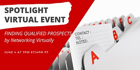 Finding Qualified Prospects by Networking Virtually tickets