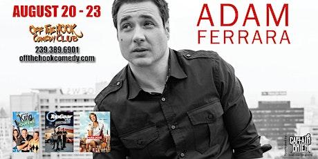 Comedian Adam Ferrara live at Off the hook Comedy club tickets