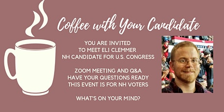 Coffee with Clemmer For Congress tickets