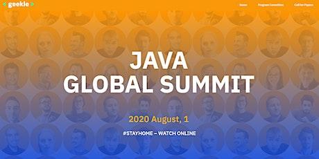 ===Java Global Summit=== Tickets