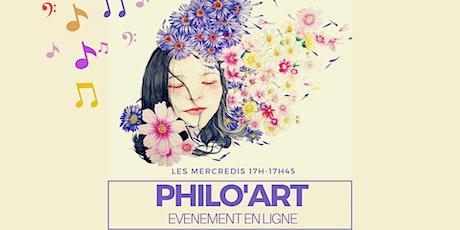 Philo'Art billets