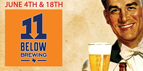 DRAUGHTS & LAUGHS: BEER & COMEDY SHOW! Feat. 11 Below Brewing! tickets