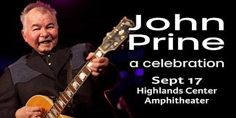 John Prine: a celebration tickets