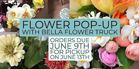 Flower Pop-up with Bella Flower Truck tickets