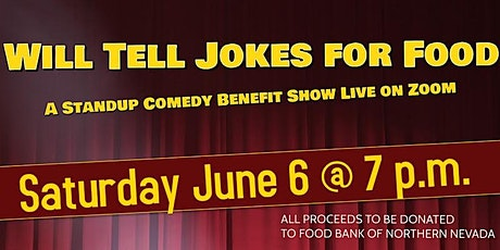 Will Tell Jokes For Food tickets