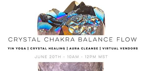 Summer Solstice Chakra Balance Flow + Virtual  Market tickets
