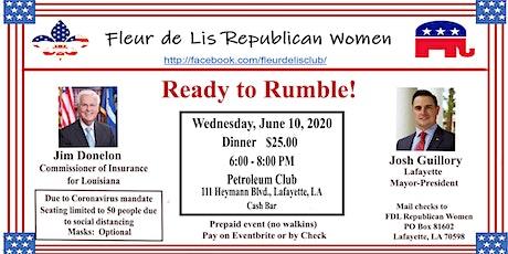Fleur de Lis Republican Women June  Meeting tickets