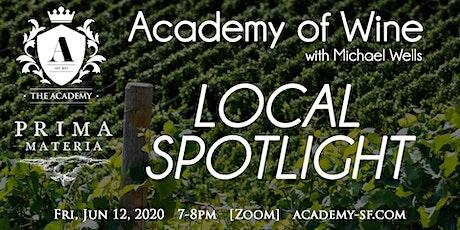 Academy of Wine w/ Michael Wells: Local Spotlight - Prima Materia tickets