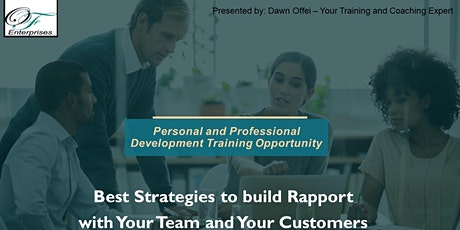 Encore---Best Strategies in Building Rapport with Your Team and Customers tickets