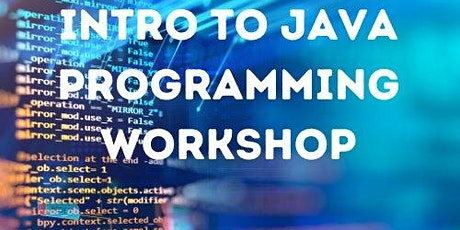 Intro to java programming workshop tickets