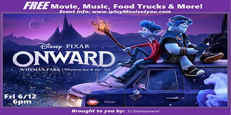 A Food Truck PopUP Movie in the Park & MORE! Fri 6/12 tickets